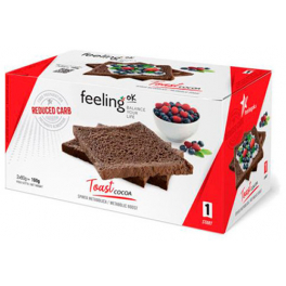 FeelingOk Toast Start Cacao 160 gr