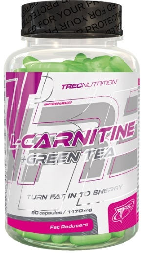 Trec Nutrition L-Carnitine + Green Tea 90 caps