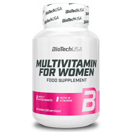 BioTechUSA Multivitamin for Women 60 tabs