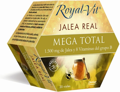 Royal-Vit Jalea Real Mega Total 20 viales x 10 ml