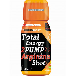 NamedSport Total Energy 2pump Arginine Shot 25 shots x 60 ml