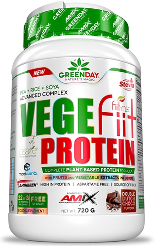Amix GreenDay Vegefiit Protein - Proteina Vegetal 720 gr