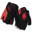 - Giro Guantes Ciclismo Strate Dure Supergel Negro/Rojo S