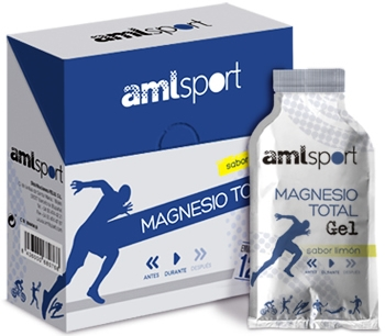 Amlsport Magnesio Total Gel 12 geles x 10 ml