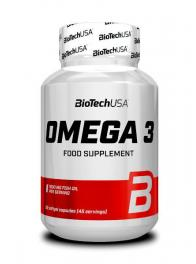 Biotech Usa Mega Omega 3 180 Softgel Caps
