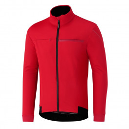 Shimano Chaqueta Windbreak Rojo