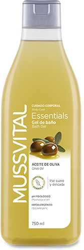 Mussvital Essentials Gel de Baño Oliva 750 ml
