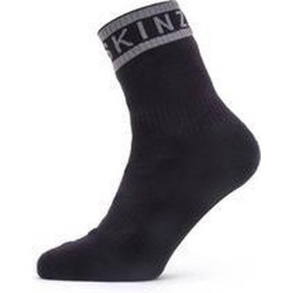 Sealskinz Calcetines Impermeables Hydrostop Negro/gris