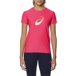 Asics Camisetas Graphic Ss Top Mujer Rosa