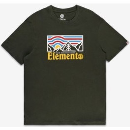 Element Camiseta Wander Green