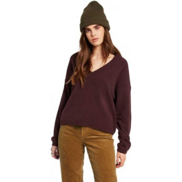 Volcom Jersey Mujer Situations Granate