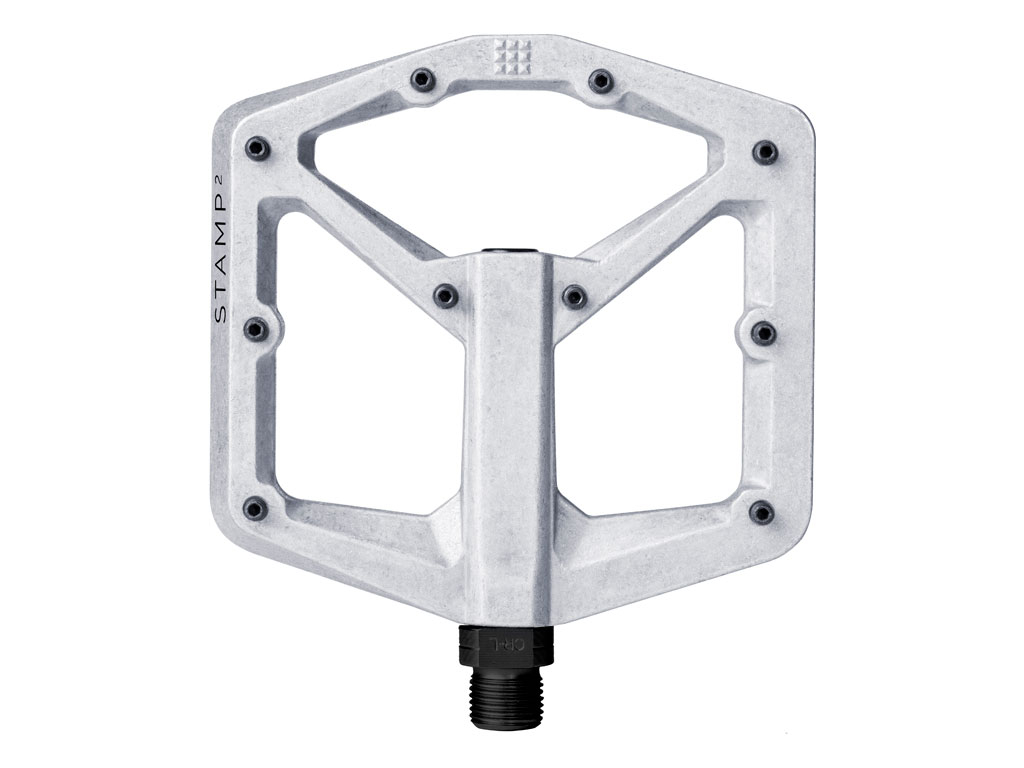 Crankbrothers Pedal Stamp 2 Large Raw Silver Nuevo