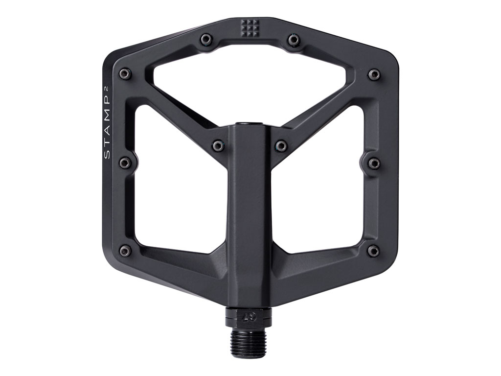 Crankbrothers Pedal Stamp 2 Large Black Nuevo