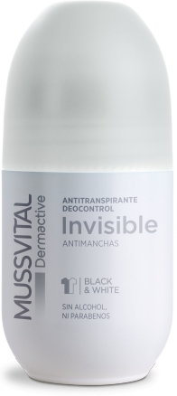 Mussvital Dermactive Desodorante Roll On Invisible 1 botes x 75 ml
