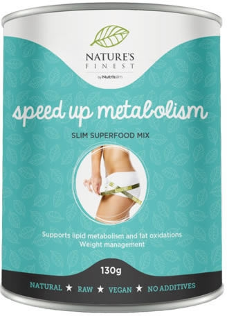Nutrisslim Nature´s Finest Speed Up Metabolism 130 gr