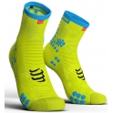 - Compressport Calcetines Pro Racing Socks V3.0 Run High Amarillo Fluor T1
