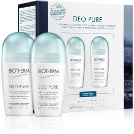 Biotherm Deodorant Pure Invisible Roll-on Lote 2 Piezas Unisex