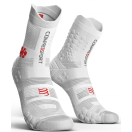 Compressport Calcetines Pro Racing Socks V3.0 Trail Smart Blanco