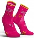 - Compressport Calcetines Pro Racing Socks V3.0 Ultra Light Run High Rosa Fluor T1