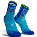 - Compressport Calcetines Pro Racing Socks V3.0 Ultra Light Run High Azul Fluor T4