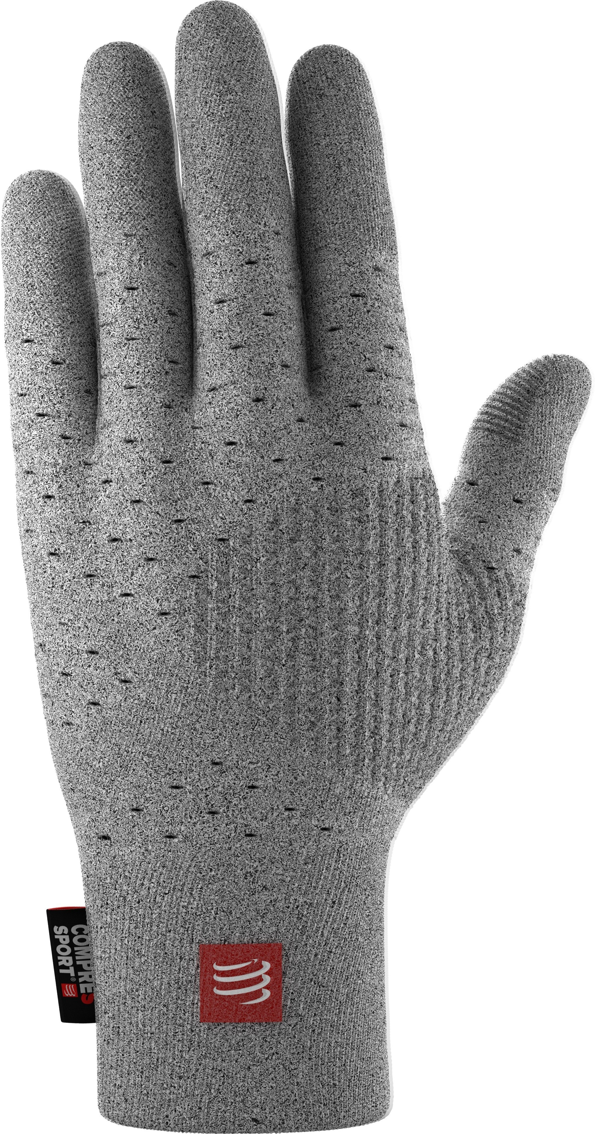 Compressport 3D Thermo Seamless Running Gloves Gris