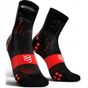 - Compressport Calcetines Pro Racing Socks V3.0 Ultra Light Bike Negro-Rojo T3