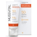 Mussvital Facial Fluid Cream Reparadora SPF 50+ 50 ml
