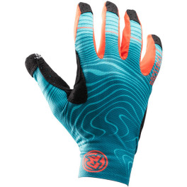 Race Face Guantes Khyber Mujer Verde Bosque