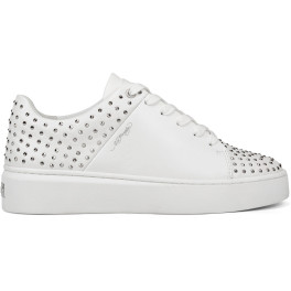 Ed Hardy - Stud-ed Low Top White/silver