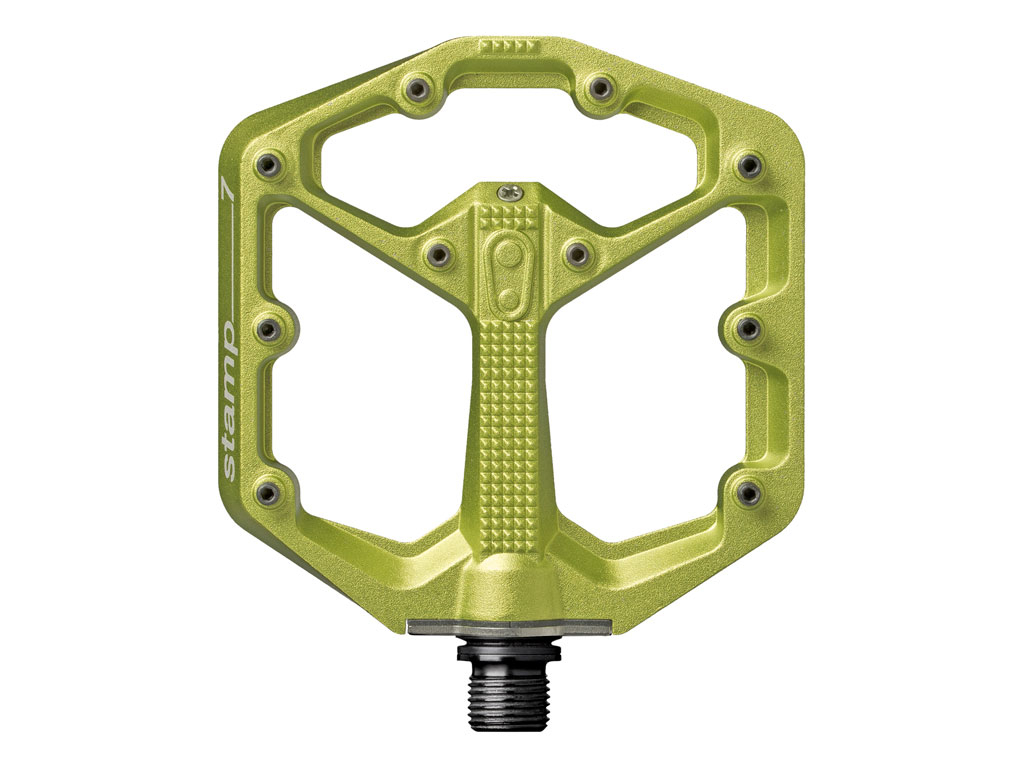 Crankbrothers Stamp 7 Small/ Green Body (incluye Pins Extra)