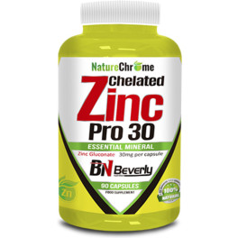Beverly Nutrition Chelated Zinc 65 Gr 90 Caps