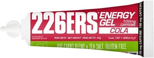 226ERS Energy Gel Cola con 100mg de Cafeina - 1 gel x 25 gr