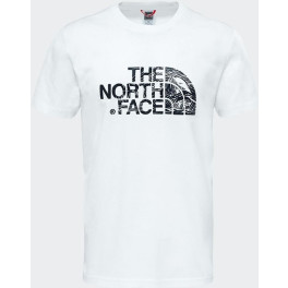 The North Face Camiseta Northface S/s Woodcut Dome Hombre