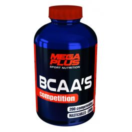 Mega Plus Bcaa's Competition Comp. Masticables 200 Comp
