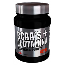 Mega Plus Bcaa's + Glutamina Extreme Purity 600 Gr