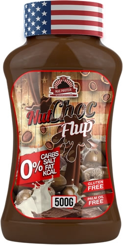 Max Protein Flup Max - Sirope NutChoc 500 gr