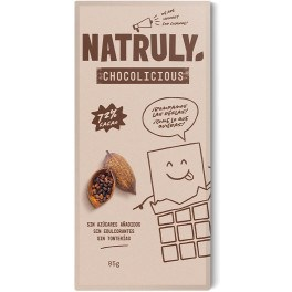 Natruly Chocolicious 72% Cacao 85 Gr Unisex
