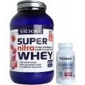 Pack Victory Super Nitro Whey 2,2 kg + Weider L-Carnitine Caps 45 caps