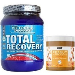 Pack Victory Endurance Total Recovery 750 Gr + Weider Peanut Butter 180 Gr