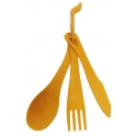 Sea To Summit Delta Cutlery Set - Set de Cubiertos Delta Naranja