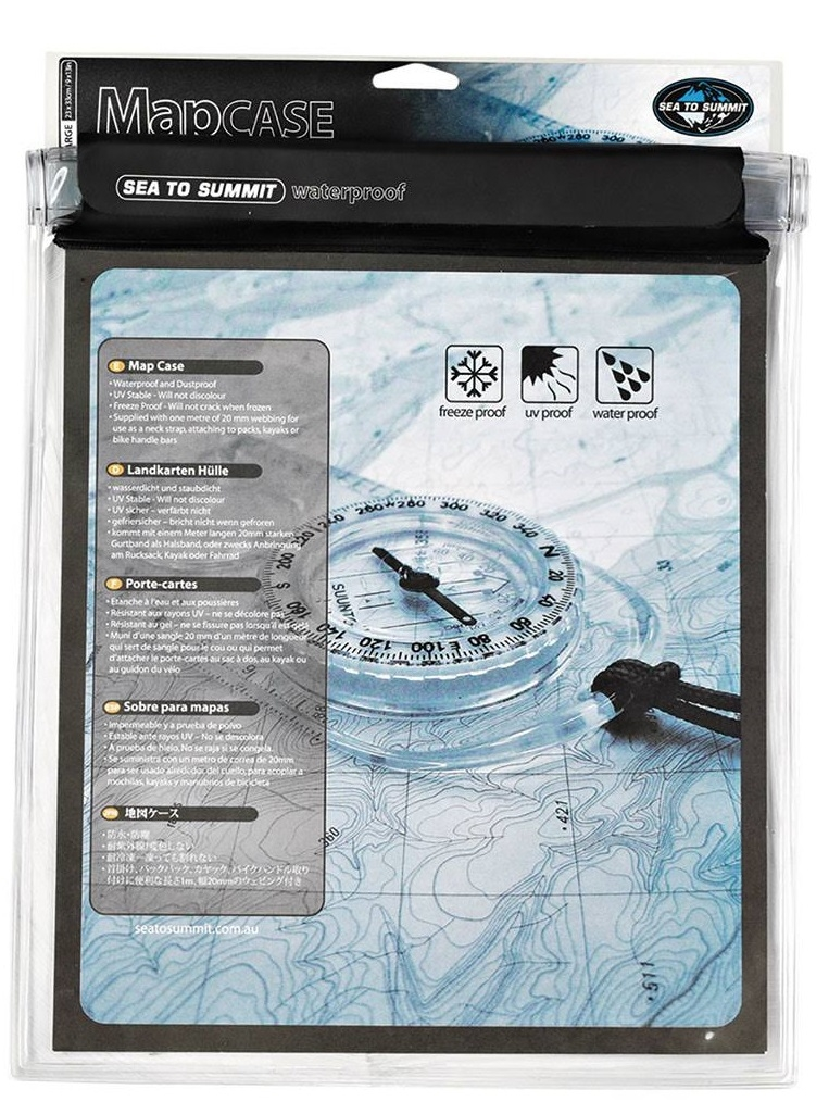 Sea To Summit Waterproof Map Case S Funda para Mapas