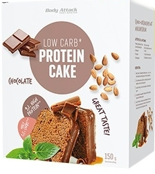 Body Attack Sports Nutrition Low Carb Protein Cake 150 gr