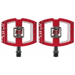 Crank Brothers Pedales Mallet DH Race Rojo