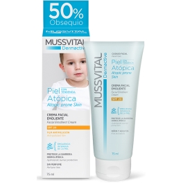 Mussvital Dermactive SPF20 Pieles Atopicas 75 ml