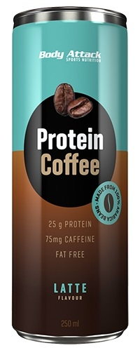 Body Attack Protein Coffee Bebida de Cafe 250 ml