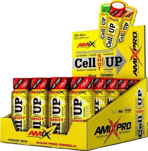 Amix Pro Cellup Shot 20 Botes x 60 ml