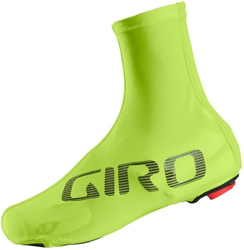 Giro Calcetines Ultralight Aero Shoecover 2018 Amarillo Fluor