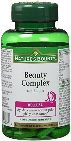 Natures Bounty Beauty Complex con Biotina 60 caps