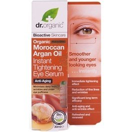 Dr Organic Moroccan Argan Oil Instant Tightening Eye Serum - Suero de Contorno de Ojos de Aceite de Argan 30 ml