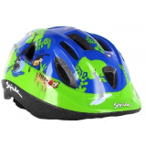 Spiuk Sportline Casco Kids Verde-Azul Jungle